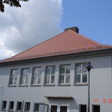 620 qm Biberschwanz Eindeckung
